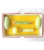 Set of jade facial massage roller (code R35)
