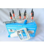 Set ventuze plastic cu magneti si pompa (cod V09)