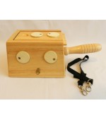 Moxa box with handle and holes (code M24)