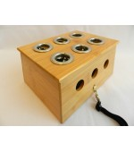Moxa box with 6 holes (code M26)