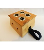 Moxa box with 4 holes (code M25)