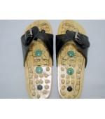 Wooden reflexology slippers (code R22)