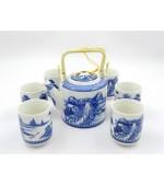 Tea Set Song-Landscape (code B12-1)