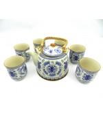 Set ceai - Simbol albastru (cod B41-1)
