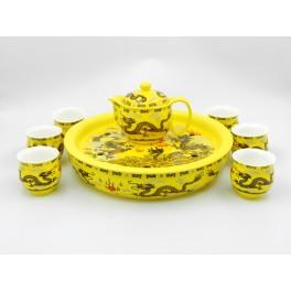 Set ceai - Galben (cod B55-1)