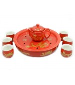 Tea set - Red (code B55-2)