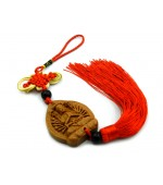 Wooden tassel with Buddha 1000 hands (code F111-2)