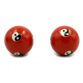 Yin Yang Chinese balls for relaxation, 4 cm (code R17-1)
