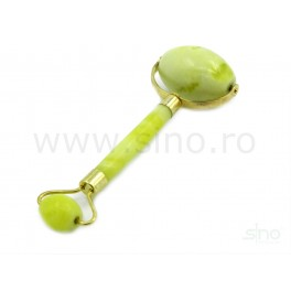 Double jade roller for facial and body massage (code R82)
