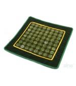 Jade pillow cover, 64 stones (code R93)