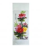 Pictura chinezeasca - Bujori (cod B70)