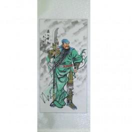Pictura chinezeasca - Razboinic (cod B70-2)