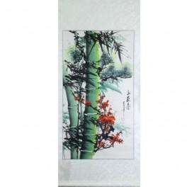 Pictura chinezeasca - Bambus si cires (cod B70-3)