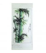 Pictura chinezeasca - Bambus verde (cod B70-5)