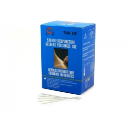 Silver Tianxie acupuncture needles (code A01)