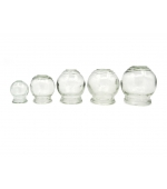 Fire cup glass jars – various dimensions (code V04)