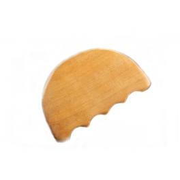 Paleta modelatoare zimtata din lemn pentru masaj (codR21)