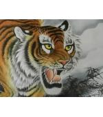 Pictura chinezeasca - Tigru Amur (cod B69)