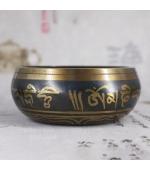 Bol cantator tibetan cu mantre (cod F85-3)