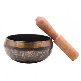 Bol cantator tibetan cu mantre  (cod F85-4)