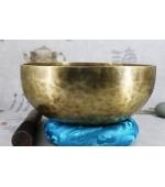 Bol tibetan -  lucrat manual din 7 metale  (F07-2)