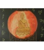Tablou  Budhha MUDRA VARADA  (cod B21-3)