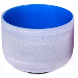 Bol cantator din cristal - Albastru (cod F11-1)