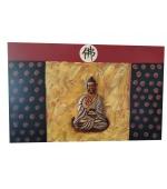 Tablou  Budhha al Invatarii si Iluminarii  (cod B21-2)