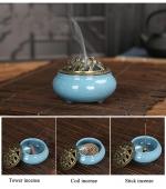 Arzator conuri parfumate - bleu (cod F51)