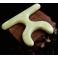 Dispozitiv multifunctional pentru presopunctura si masaj din jad (cod R18
