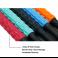 Roller masaj stick cu 9 role mov (cod R124-4)