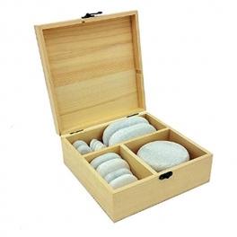 Set pietre marmura reci, 14 bucati (cod R10-3)