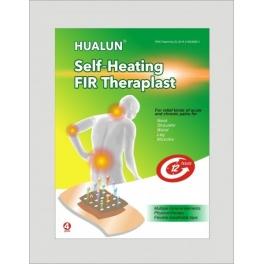 Plasture terapeutic analgezic cu auto-incalzire si spectru electromagnetic (cod P15)