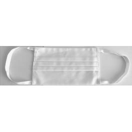 Masca protectie fata din bumbac cu trei pliuri, reutilizabila (cod U05)