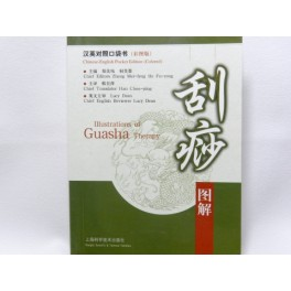 Illustration of Guasha Therapy -pocket edition (code C27)