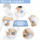 Set ventuze din silicon alimentar pentru masaj facial si corporal (cod V11)