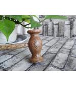 Ciocanel pentru masaj din lemn de wenge, decontracturant, relaxant, tonifiant (cod R136-1)