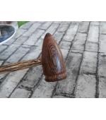 Ciocanel pentru masaj din lemn de Wenge, decontracturant, relaxant, tonifiant (cod R134)