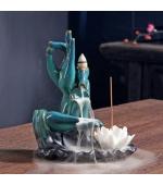 Suport conuri parfumate backflow, Mudra Jnana , Mudra Cunoasterii  (Cod F09-1)