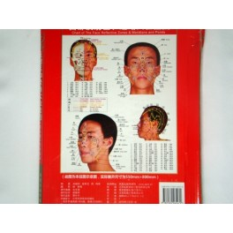 Board for reflexology and acupuncture (code H5)