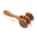 Dispozitiv din lemn pentru masaj anticelulitic (cod R63)