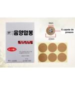 Plasturi pentru presopunctura Yin (cod P06)