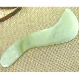 Piatra Gua Sha din jad  (cod G14)