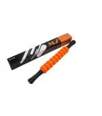 Roller masaj stick cu 9 role zimtate portocalii (cod R123-1)