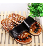 Reflexology slippers with natural stones (code R25)