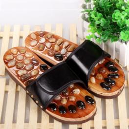 Papuci reflexoterapeutici cu piatra naturala (cod R25)