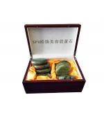 Set pietre jad pentru masaj - 16 pietre (cod R10-1)