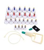 Set 24 ventuze plastic cu magneti si pompa ( cod V03-5)