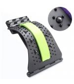 Dispozitiv Back Relax,  reglabil pentru indreptarea coloanei, strech lombar, cu magneti - VERDE(cod T54-1M)
