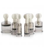 Set 6 Ventuze plastic,Twist-On, teraputice, decontracturante (cod V07-2)